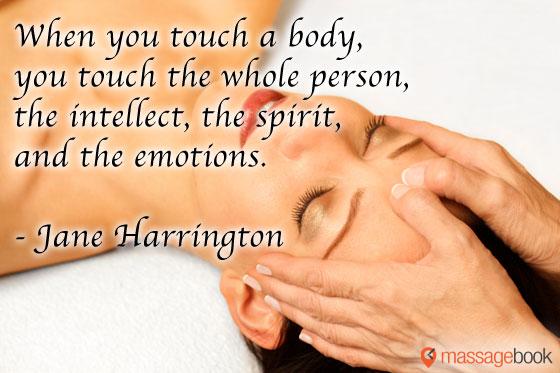 Massage Quote Graphic