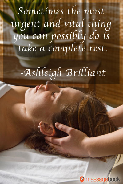 Massage Quote Graphic