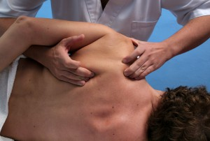 Rolfing stretches and re-aligns fascia